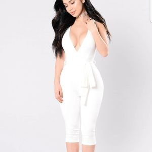 Sexy Ivory Jumpsuit